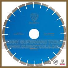 Три шага Сегментированные Алмазные дисковые пилы для камня (ЗП-483)