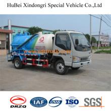 4.0cbm JAC Model Sewage Suction Truck