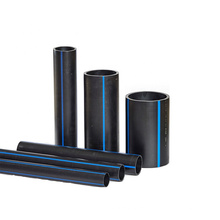China Manufacturer Price Pe100 Large Diameter Plastic Tube Irrigation Pe Water Supply Pipe