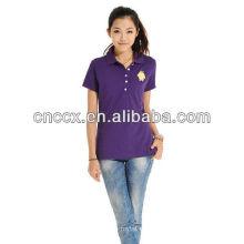 13PT1036 Women's cotton button fashion us polo shirts