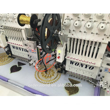 sequin cap Flat Embroider Type and 3D Computerized Operation Domestic Embroidery Machine