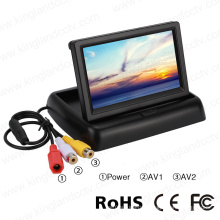 4.3 Inch Foldable Back up Reversing Rearview Monitor