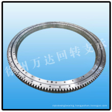 Double Row Ball Slewing Ring External Gear Slewing Bearing and Cheap Slewing drive Slewing ring bearing CNC manufacturing