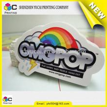 China supplier epoxy sticker printing and printing sticker
