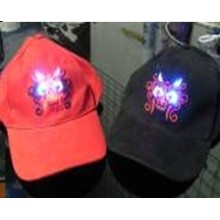 Reflex Caps With LED Light Clip