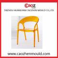 Armless / Adult Molde plástico da cadeira do Rattan da injeção