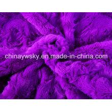 100% poliéster PV Fleece con diseños de rosas