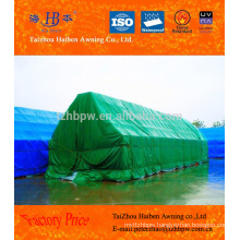 customized PVC coted tarps for goods cover