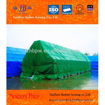 Lonas de PVC personalizadas para cubrir las mercancías