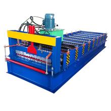 Hebei Xinnuo 850 techo panel chapa de hierro corrugado que hace la máquina