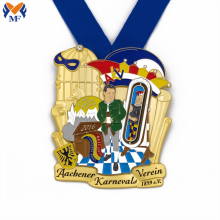 Médailles commémoratives du prix du carnaval en métal personnalisé