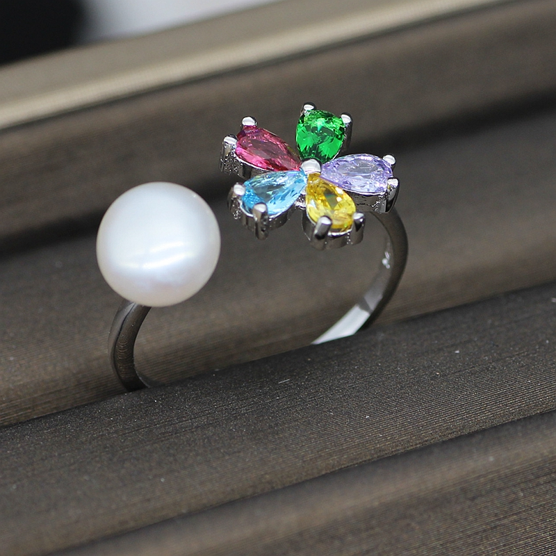 Freshwater White Pearl Ring