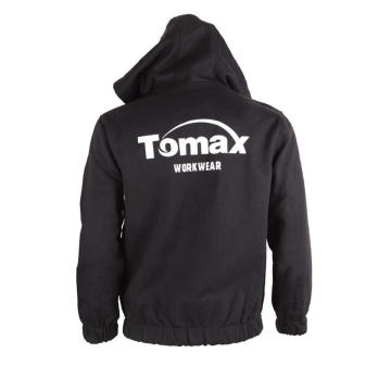 Tahan Api 100% Cotton FR Hooded Jacket