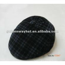 Ivy Scally Hat chapéu de hera plana para homens