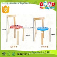 DC008 Heiße Verkaufsgroßverkauf Vorschule hölzerne Kinder Stühle