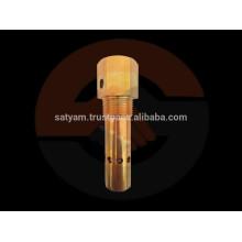 Válvula de retención estándar o no estándar para medios de aire, gas y agua