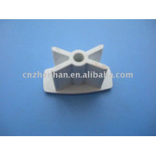 PVC end cap for base rail and bottom rail for Roller blind tube-Curtain accessories