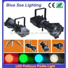 hotsale 200W LED white / 4IN1 prefocus profile spot led spot light