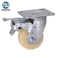 Rodízio industrial da roda de 100mm com freio