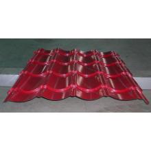 Гофрированный листовой металл оцинкованный гофрированный лист кровельная плита