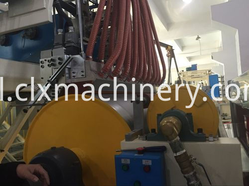 big cooling roller for stretch film machinery