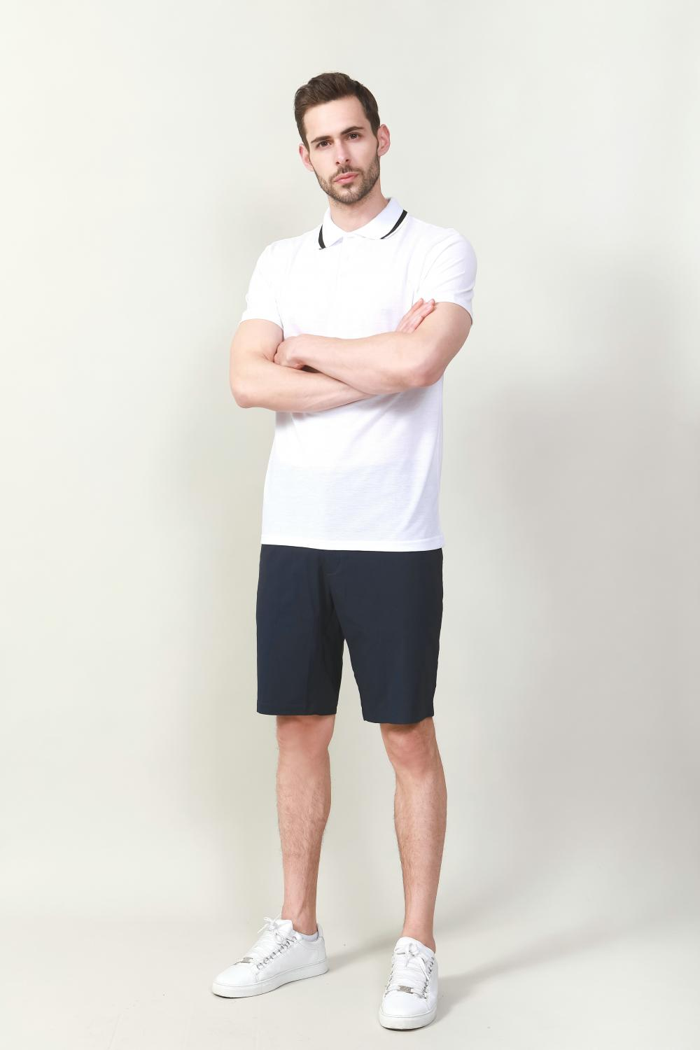 MEN'S PLAIN DYED SHORTS