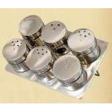 Especiero magnético de acero inoxidable (CL1Z-J0604 - 6H)