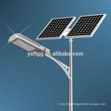 2015 best sale hot dip galvanized octagonal, round shape solar street light pole , good price pole