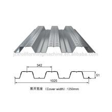 Widen type 1025 floor deck cold roll forming machine