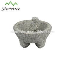 Natural Granite Stone Molcajete