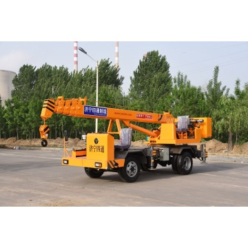 4 ton small mobile crane