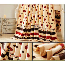 100% poliéster feitas sob encomenda Super Super macio velo cobertor