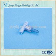 Conector descartável para infusão médica esterilizada