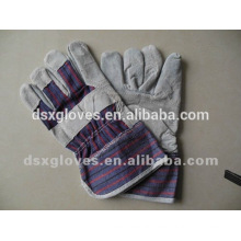 Hot Sale leather safety gloves for industrial workers