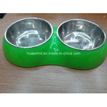 Двойной шар любимчика, шар еды собаки