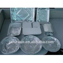 envase de alimento del papel de aluminio