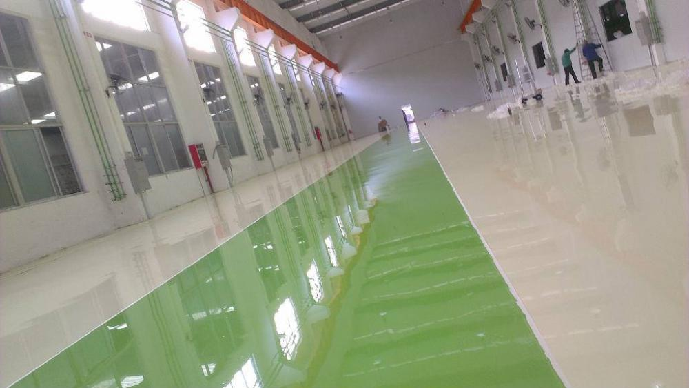 Plant High Strength Epoxy Resin Coating Floor