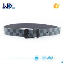 Men PU belt with alloy buckle