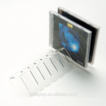 High Clear Acrylic CD Display Stand