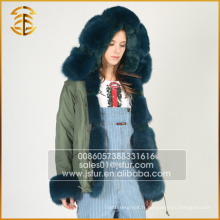 Chine Fabricant OEM Service Fox Coat Witner Fur Parka