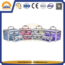 Aluminum Acrylic Cosmetic Case for Makeup (HB-2101)