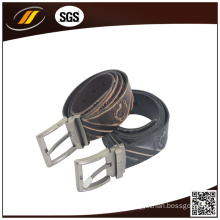Custom Embossed Your Own Logo Genuine Leather Belt