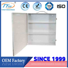 3 shelf steel portable emergency first aid cabinet