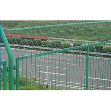 Galvanized & PVC Coated Highway and Railway Wire Mesh Fence
