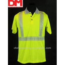 high visibility  reflective safety T-shirt