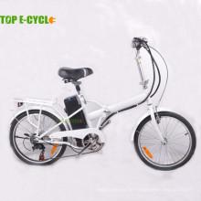 China-Lieferant 2-Rad-Elektro-Fahrrad günstigen Preis Stahlrahmen Mini Klappfahrrad