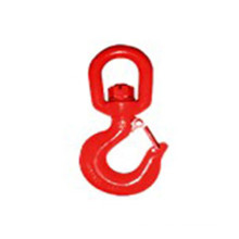 S322 Drop Forged Heavy Lifting Swivel Hook with Latch