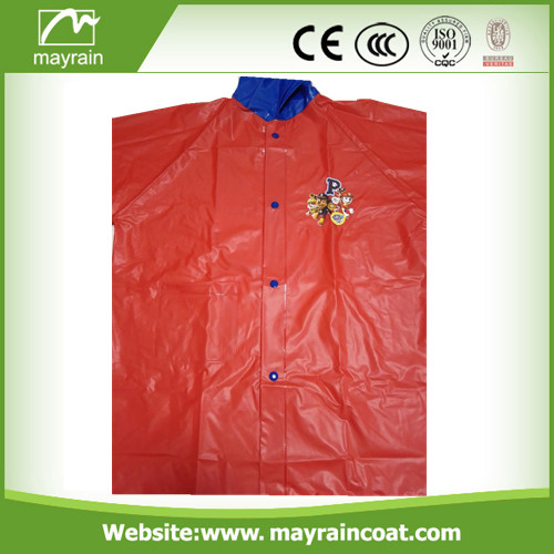 PVC School Raincoat and School Rain Poncho