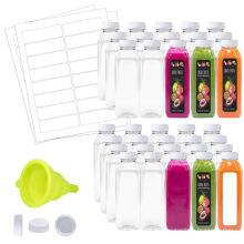Auslaufsicherer Verschluss für transparente Plastikflasche