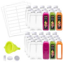 Tampa à prova de vazamentos para garrafa de plástico transparente